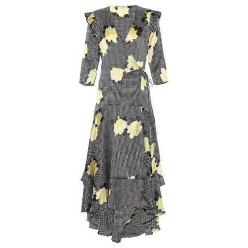 Ganni Spring Summer 2020 silk mid-length dress