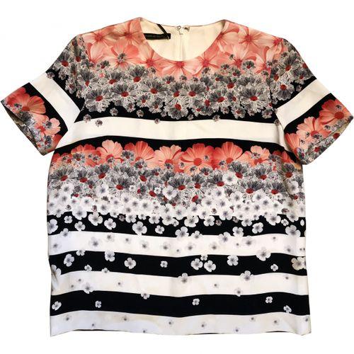 M Of Pearl Silk vest