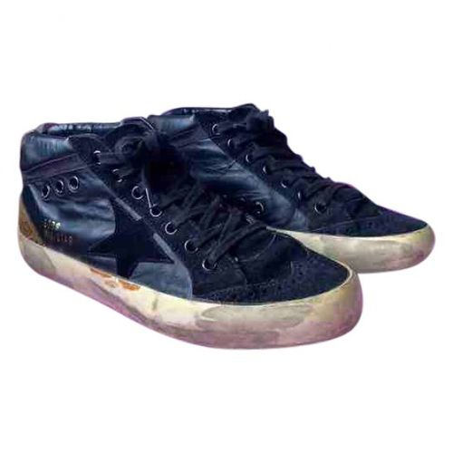 Golden Goose Mid Star leather trainers