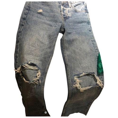 Anine Bing Spring Summer 2020 straight jeans