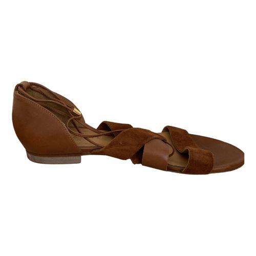 Sézane Leather sandal