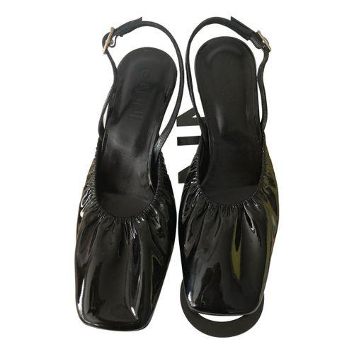 Ganni Patent leather heels