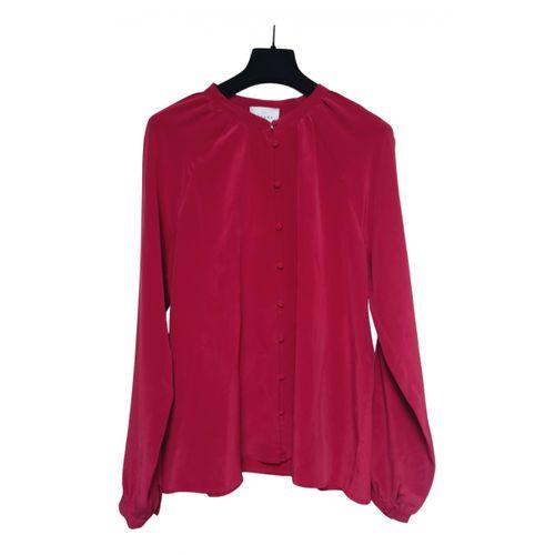 Sézane Fall Winter 2019 silk blouse
