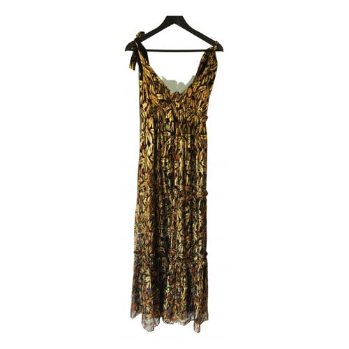 Sézane Silk maxi dress