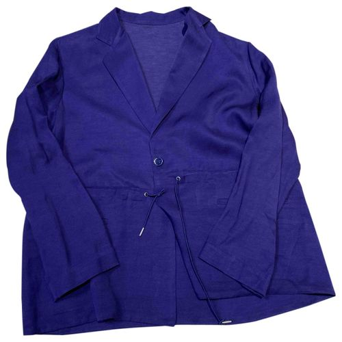 Acne Studios Purple Viscose Jacket