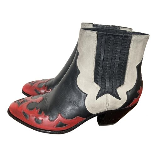 Golden Goose Leather western boots