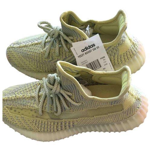 Yeezy x Adidas Boost 350 cloth trainers