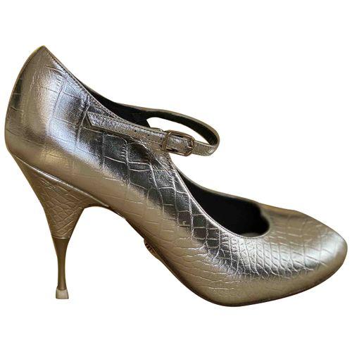 Amélie Pichard Leather heels