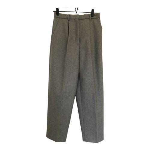 Acne Studios Wool carot pants