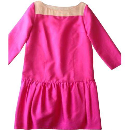 by Malene Birger Pink Silk Dress