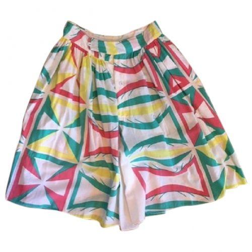 Vivienne Westwood Multicolour Cotton Shorts