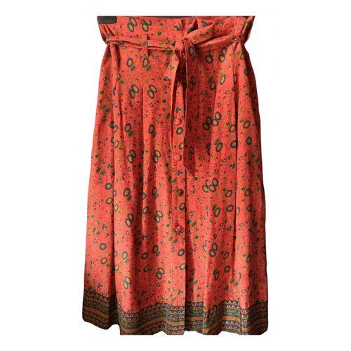 Sézane Fall Winter 2019 silk maxi skirt