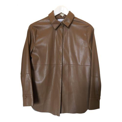 Nanushka Vegan leather biker jacket