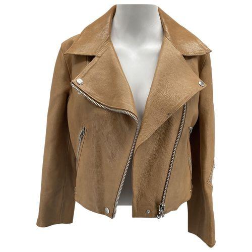 Acne Studios Leather short vest