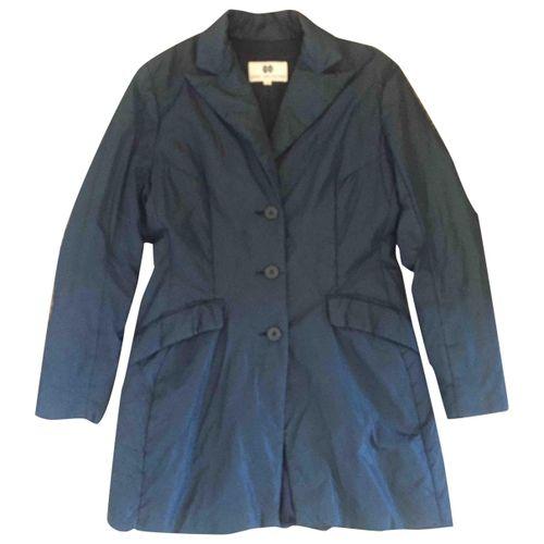 Dries Van Noten Blue Synthetic Jacket