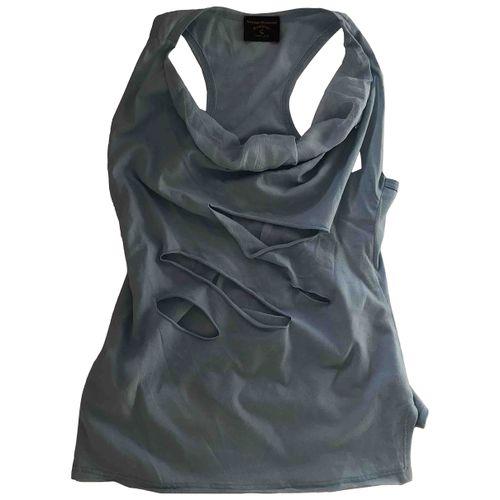 Vivienne Westwood Anglomania Silk vest