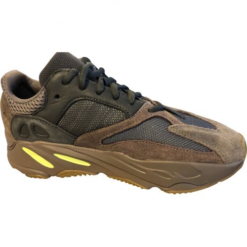 Yeezy x Adidas Boost 700 leather trainers