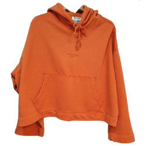 ACNE Acne Studios Orange Cotton Knitwear