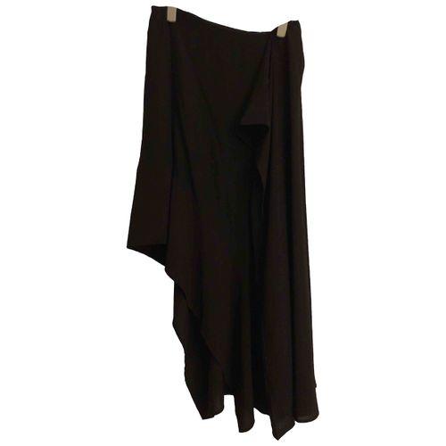 Acne Studios Silk mid-length skirt