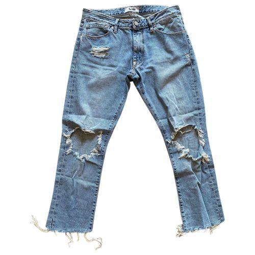 Acne Studios Blue Denim - Jeans Jeans