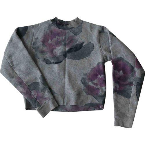 Acne Studios Grey Cotton Knitwear