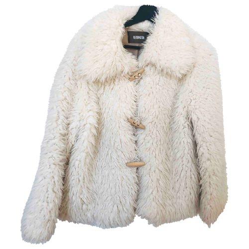 Reformation Faux fur coat