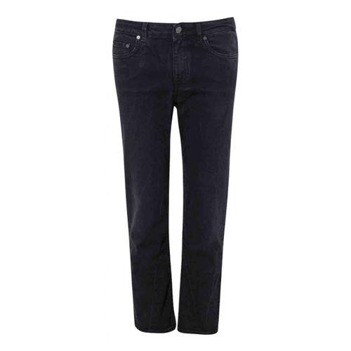 Acne Studios Black Cotton - elasthane Jeans Row
