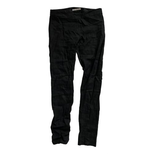 Acne Studios Linen slim pants