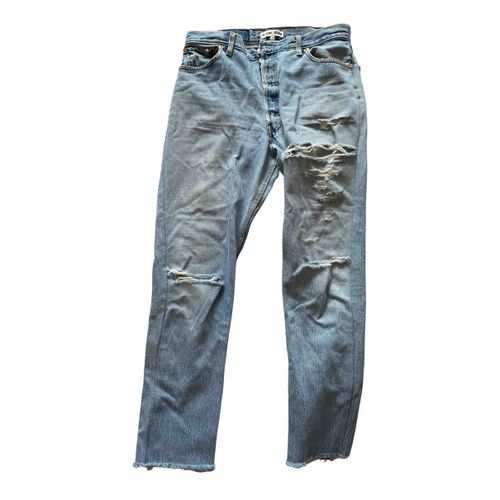 Re/Done x Levi's Straight jeans