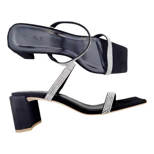 By Far Tanya leather mules