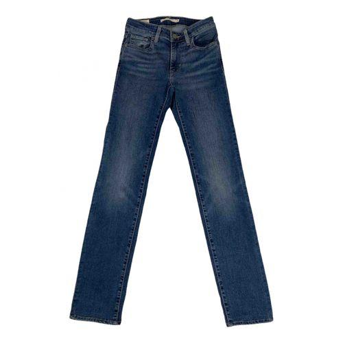 Levi's 712 straight jeans