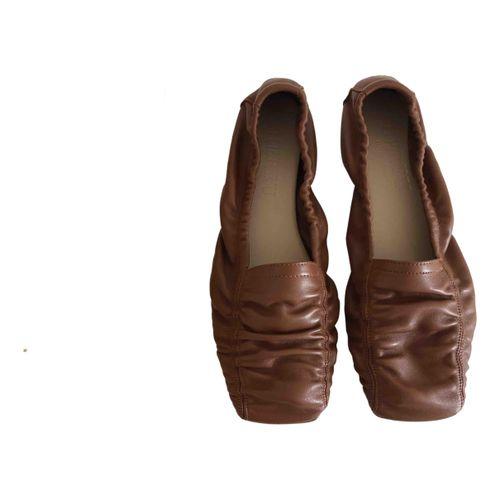 Hereu Leather ballet flats