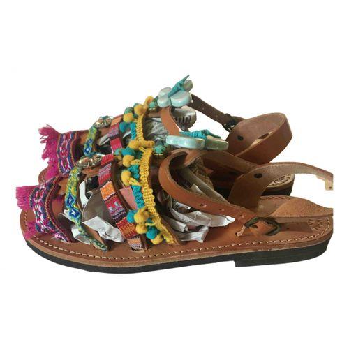 Ancient Greek Sandals Leather sandal