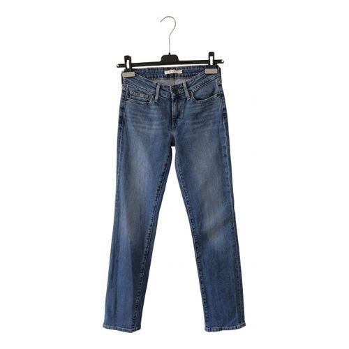Levi's 714 straight jeans