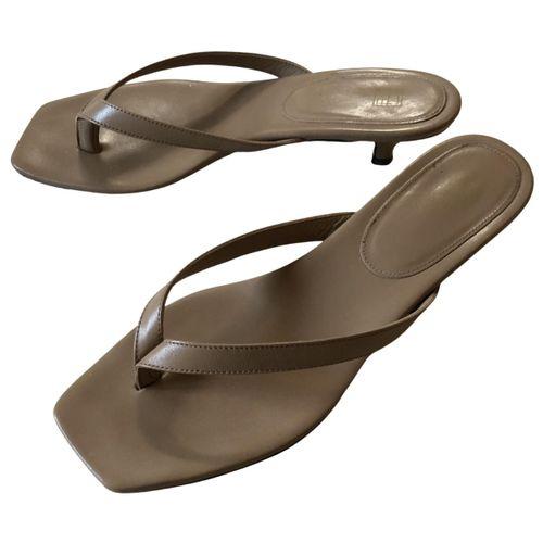 Totême Leather sandals