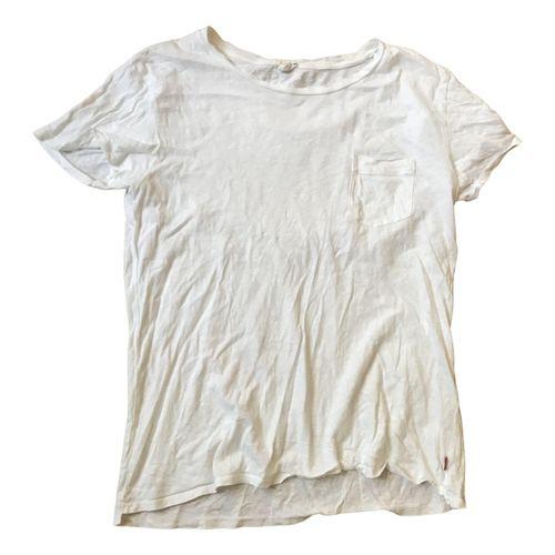 Levi's White Cotton Top