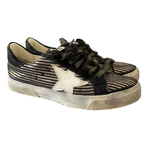 Golden Goose May leather trainers