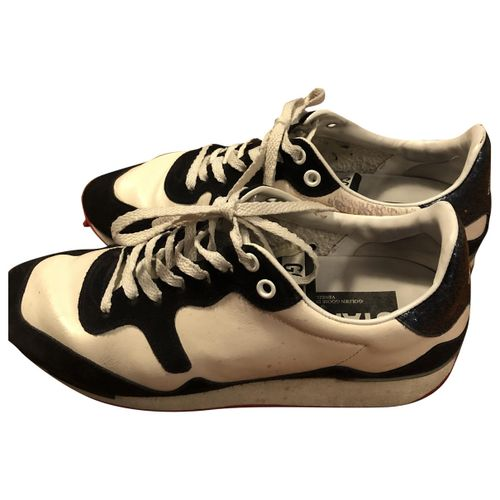 Golden Goose Starland leather trainers