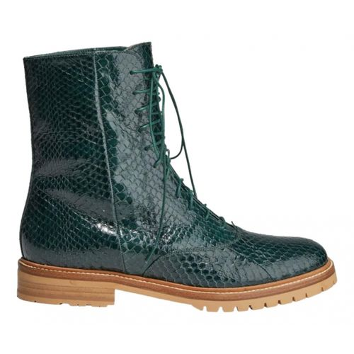 Gabriela Hearst Exotic leathers boots