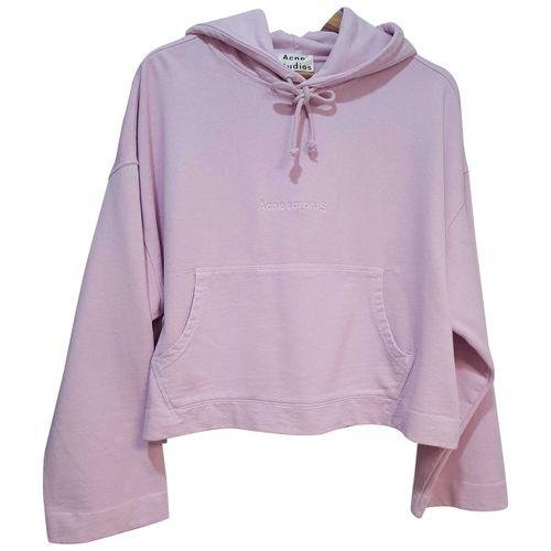 Acne Studios Pink Cotton Top