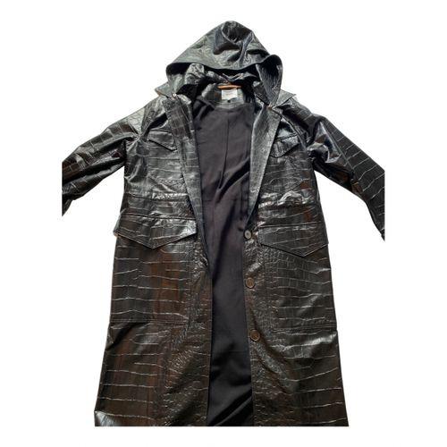 Nanushka Vegan leather trench coat