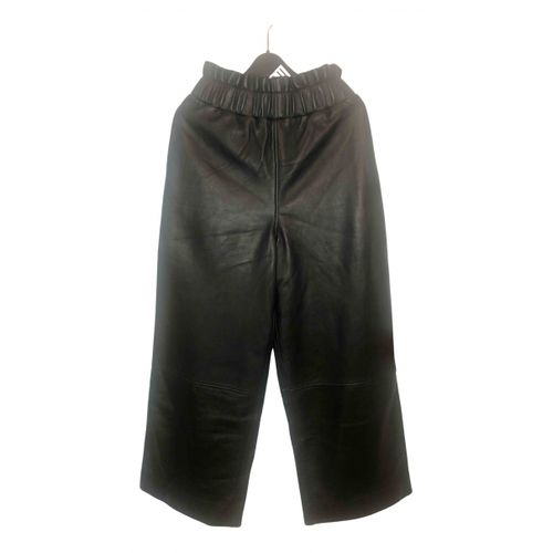 Ganni Leather trousers