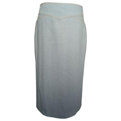 Dries Van Noten Wool mid-length skirt