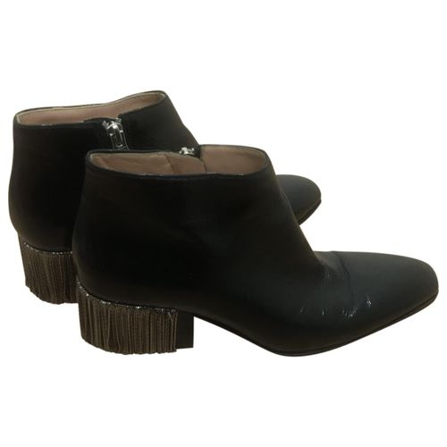 Acne Studios Patent leather ankle boots