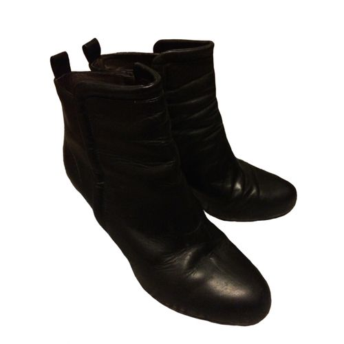 Filippa K Leather ankle boots