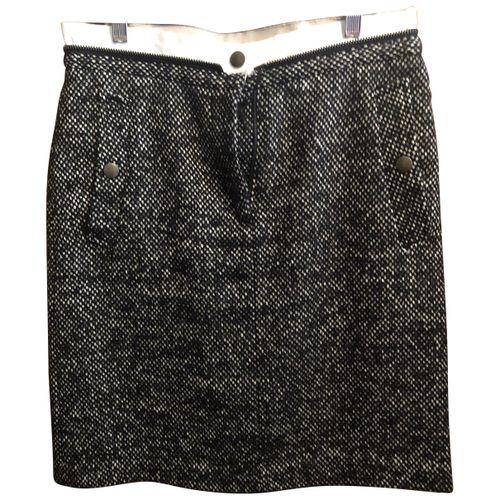 Dries Van Noten Linen mini skirt