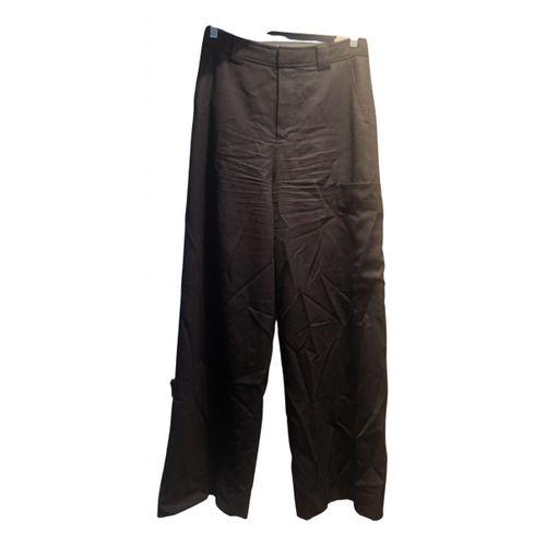 Ganni Spring Summer 2020 wool straight pants
