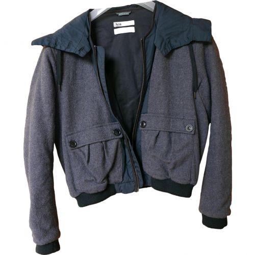 Acne Studios Wool biker jacket