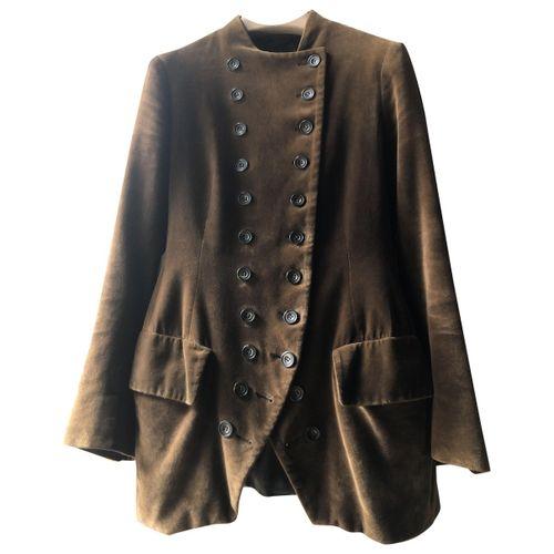 Dries Van Noten Velvet suit jacket