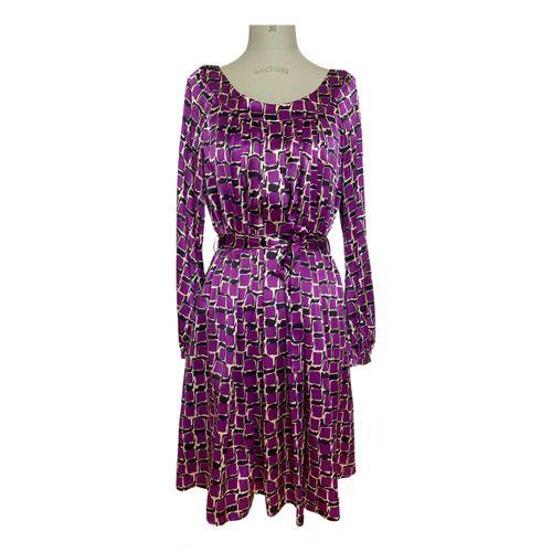 Baum Und Pferdgarten Silk mid-length dress